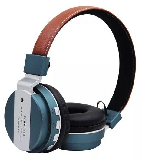 Fone Bluetooth JB-55 Metal super Bass-VERDE