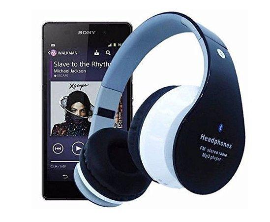 Fone Ouvido  B01 Fm Sd Card, Mega Bass Bluetooth Original