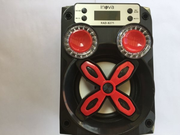 Caixa de som Bluetooth Inova-RAD-8271