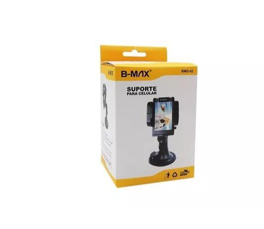 Suporte  Celular e GPS para carro com ventosa B-Max