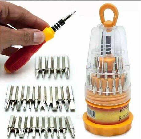 Kit de chaves 31 cabeças TE-6036