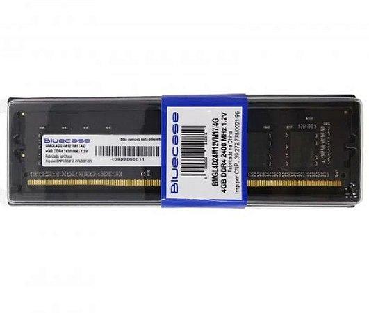 Memória 4G  DDR4 2400MHZ Bluecase