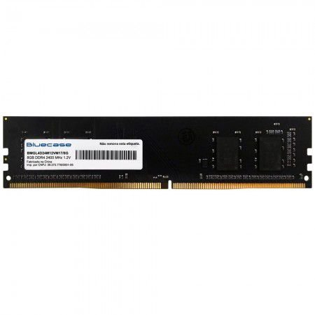 Memória 8G  DDR4 2400MHZ Bluecase