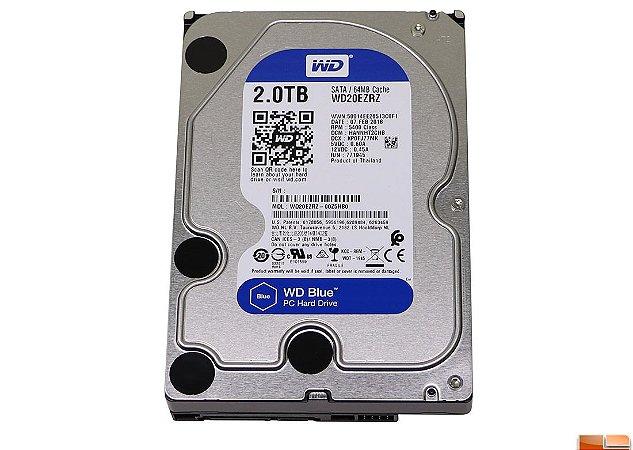 HD WD Blue 2TB 3.5 SATA  WD20EZRZ