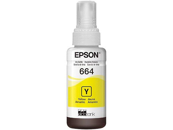 Refil Epson 664 Amarelo Original
