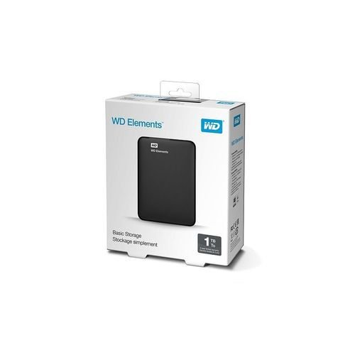 Hd Externo 1tb Western Digital Elements Preto Usb 3.0