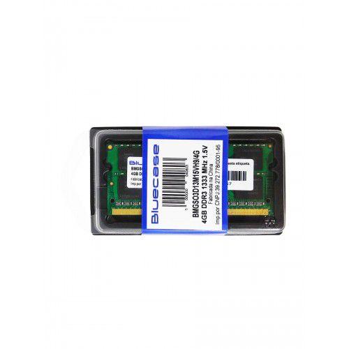 Memoria Bluecase 4gb Ddr4-2400 SODIMM bmtso4d24m12vp17/4g