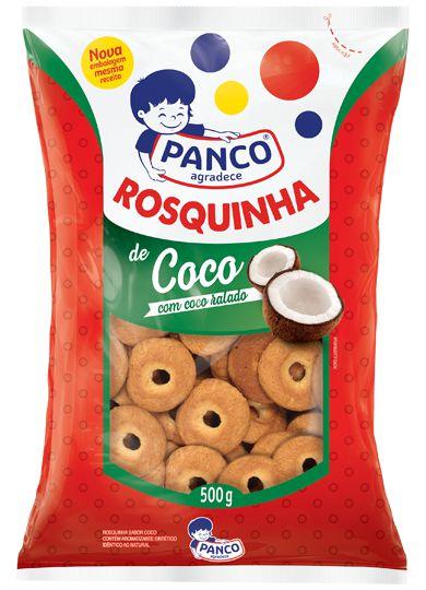 Rosquinha de Coco Panco 500gr.