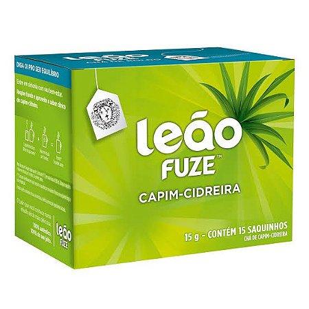 Chá Leão Sachê Capim Cidreira c/15 unid.