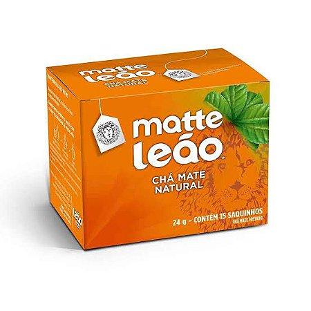 Chá Leão Sachê Mate Natural c/15 unid.