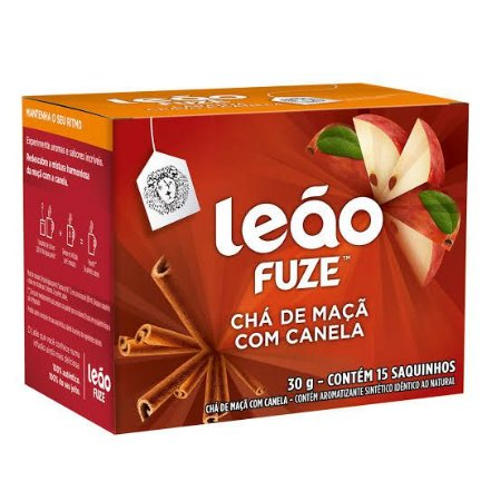 Chá Leão Sachê Maçã com Canela c/15 unid.