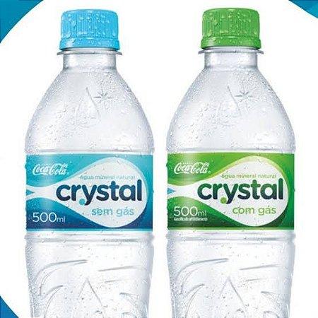 Água Crystal 500ml.