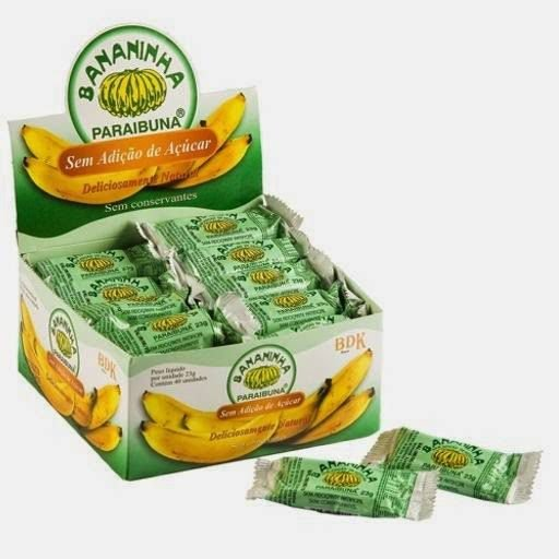 Bananinha Paraibuna sem Açúcar c/40 unid.