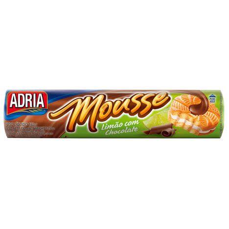 Biscoito Mousse Limão c/ Chocolate 150gr.