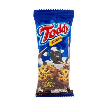 Cookie Toddy Gotas de Chocolate 16 x 40gr.