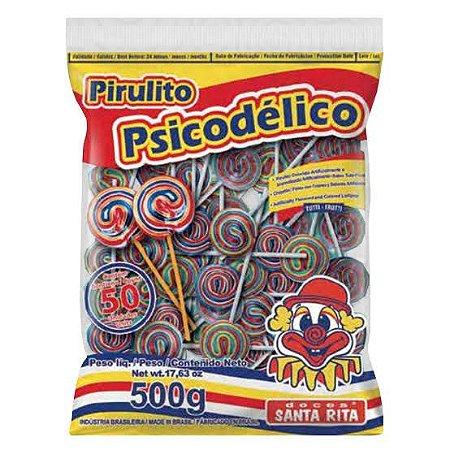 Pirulito Psicodélico /Santa Rita c/ 50 unid.