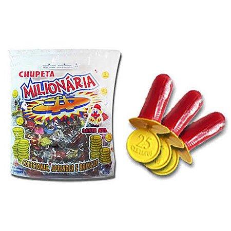 Pirulito Chupeta Milionária Santa Rita c/ 50 unid.
