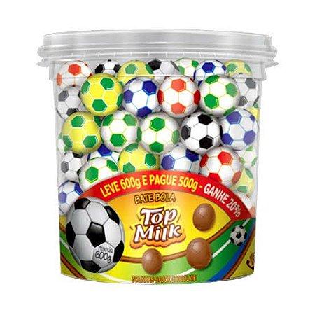Bolinha de Futebol Top Milk c/ 80 unid.