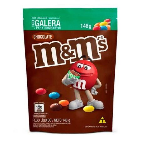 Chocolate M & M' s 148gr. Sabores