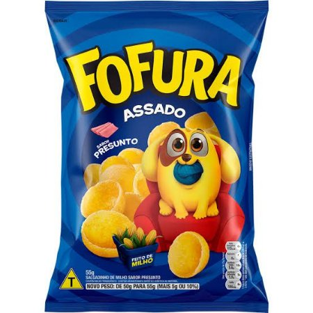 Salgadinho Fofura 100gr Sabores