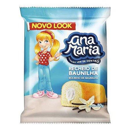Bolinho Ana Maria Baunilha 80gr.
