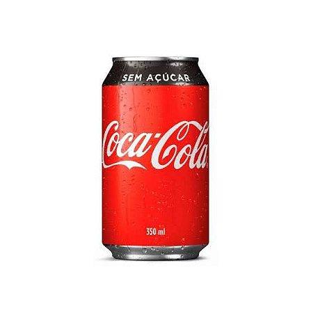 Coca Cola Zero Lata 350ml.