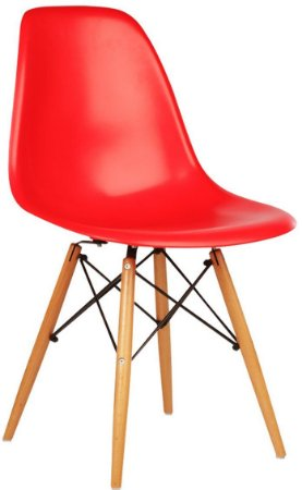 Cadeira Charles Eames New Wood Design