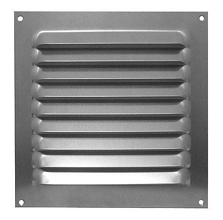 Grade de Ventilação Quadrada de Alumínio 20x20 cm