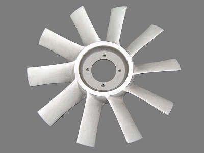 Hélice do Radiador 10 Pás de Alumínio Par Scania Ftr 112/ Tr 142 - 331360