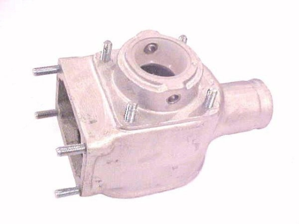 Carcaça do Trambulador com Bucha-Alumínio - 983452600072 - Mercedes