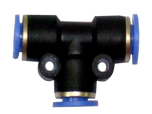 Conexão T Nylon Engate Rap 6mm - 0009977370 -  Mercedes