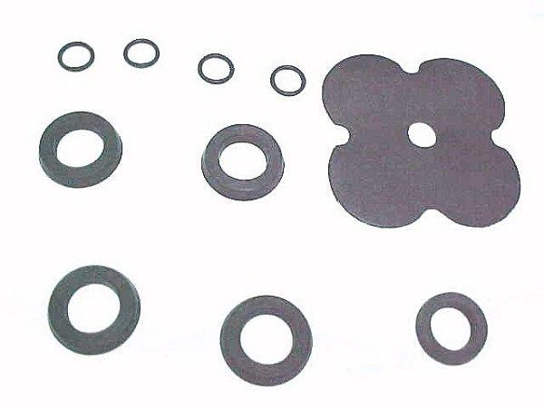 Reparo Válvula 4 Círculo com Gaxetas Borrachas/K - 6889533 -  Volvo