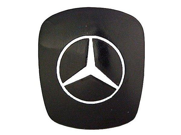 Tampa Manopla Simples Preta Sem Marcação - 3862687257 -  Mercedes