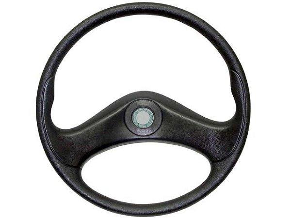 Volante de Direção Preto sem Estria C/Emblema  - 6954647001 - Mercedes 1618/1620/2325/1218 PRETO