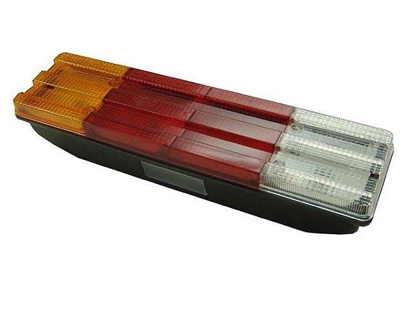 Lanterna Traseira Esquerda C/Vigia  - Mercedes HPN 96 EM DIANTE 1114/1614/1618/1620 - 6885449003
