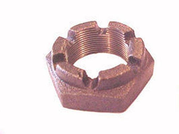 Porca Castelo Setor Direção 36 mm - Mercedes-L 1111/1113/LPO/1313/1513/0321 - 0009902555
