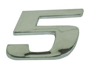 Emblema Número 5 Cromado Mercedes AXOR / ATEGO  - 9438171614