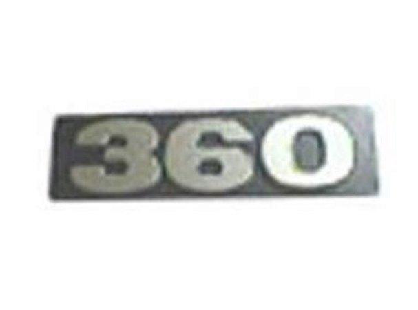 Letreiro - 360 Potencia - Scania-112/113 - 1347201