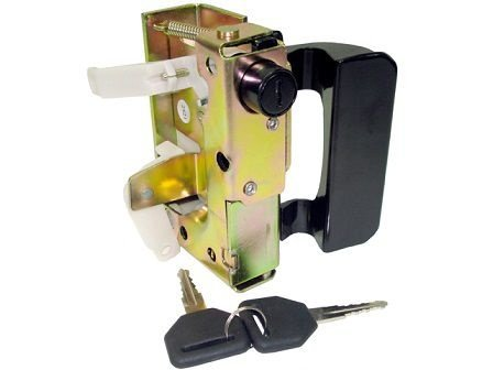 Fechadura Porta Completo Lado Direito Ford Cargo ( C/chave) - 86HUE21812AA - Importado