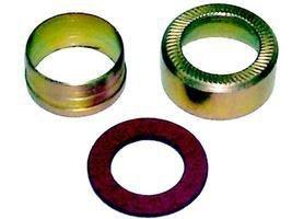 Kit Niple Arruela Encanamento Compressor 14mm - Mercedes MBB TODOS - 0005860392
