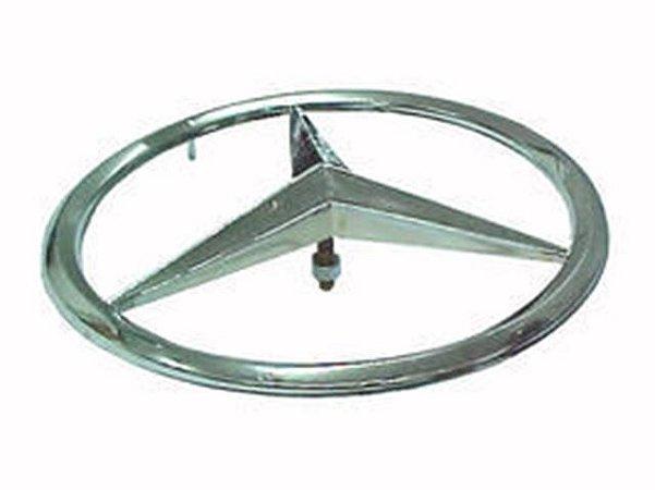 Emblema Estrela Grade Mercedes 1113 1518 AGL ( 255mm (Cromada) - 3318100018