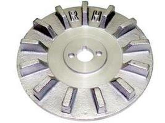 Ventoinha Alternador Aluminio - Mercedes - 3431557118