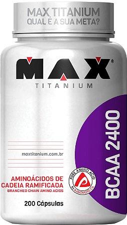 BCAA 2400 MAX TITANIUM 200 CAPS