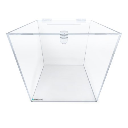 Urna de Acrílico Quadrada 30x30x30cm