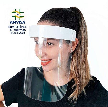 Máscara PREMIUM Acabamento de  Acrílico - Modelo Face Shield
