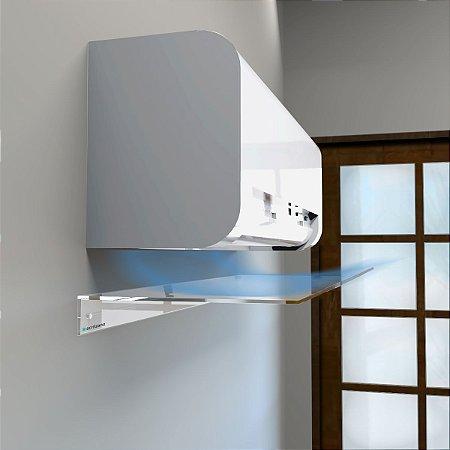 Defletor em Acrílico para Ar Condicionado Split 80x45cm