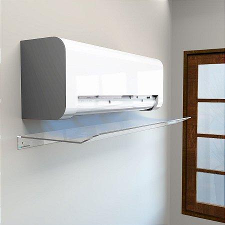 Defletor em Acrílico para Ar Condicionado Split 100x45cm