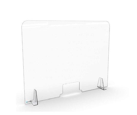Barreira de Proteção Transparente com Abertura 66x65cm