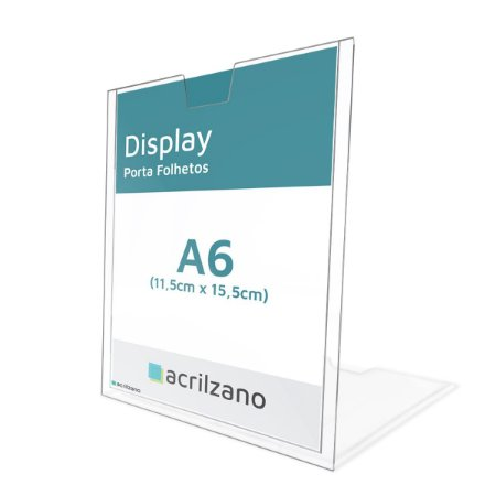 Display Porta Folder A6 Vertical