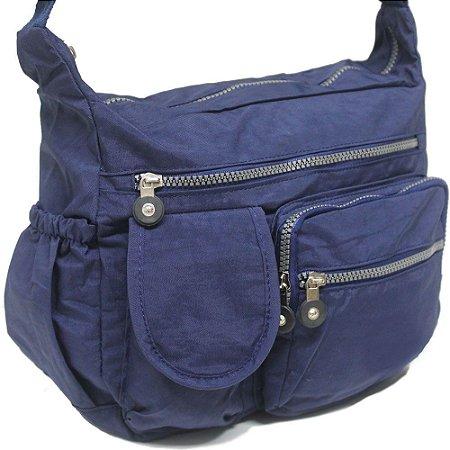 Bolsa Tactel Unissex Azul